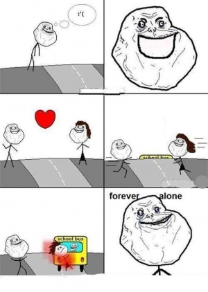 Forever alone Girl Friend